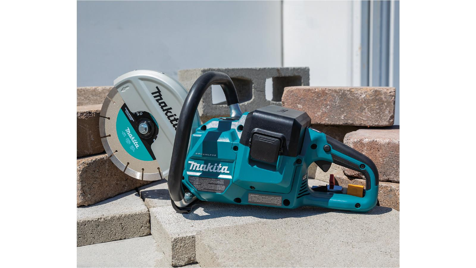 Makita Launches New Twin 18V Brushless Disc Cutter image