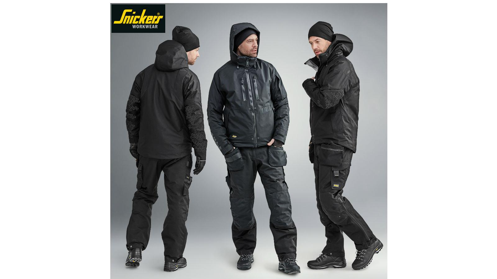 Snickers Workwear FlexiWork Insulated Jackets and Trousers image