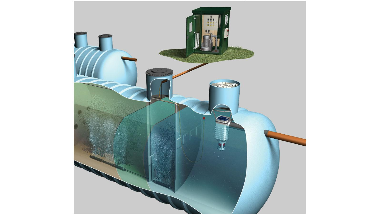 New eco-friendly sewage plant processing brings cost-saving benefits to end-users. image