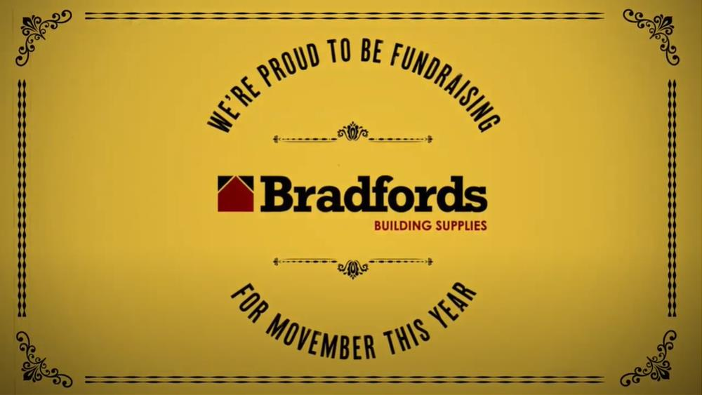 """Look after your bros this Movember, "" says Bradfords image"