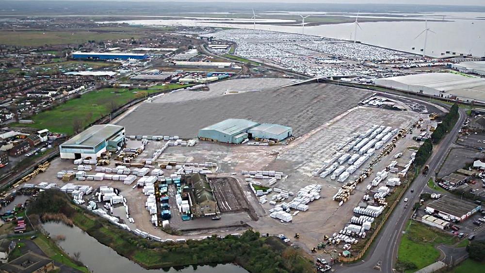New Medway timber terminal opens for business image
