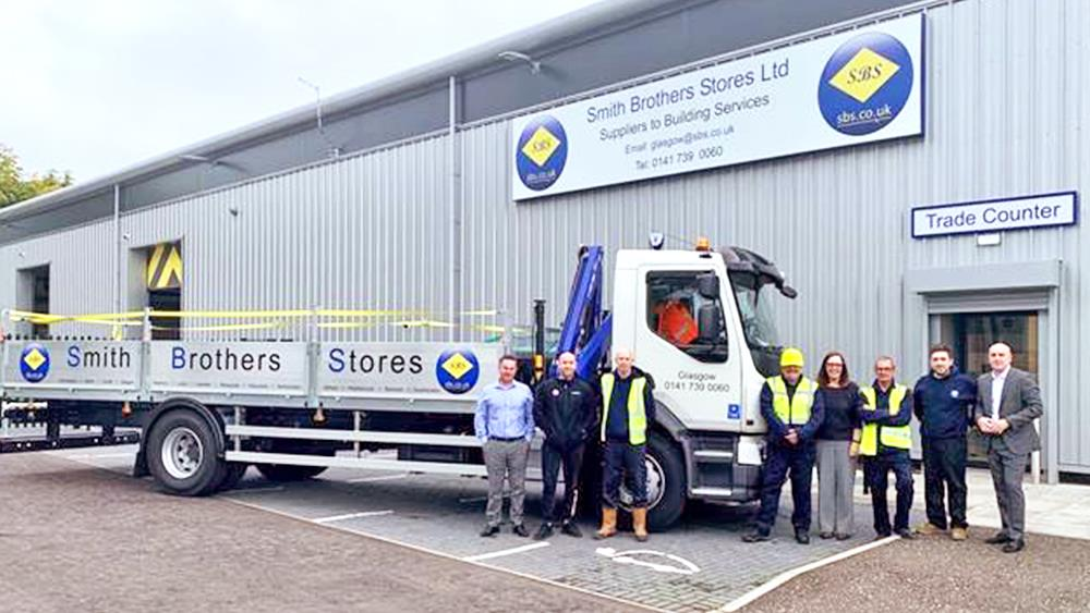 SBS opens first Scottish branch image