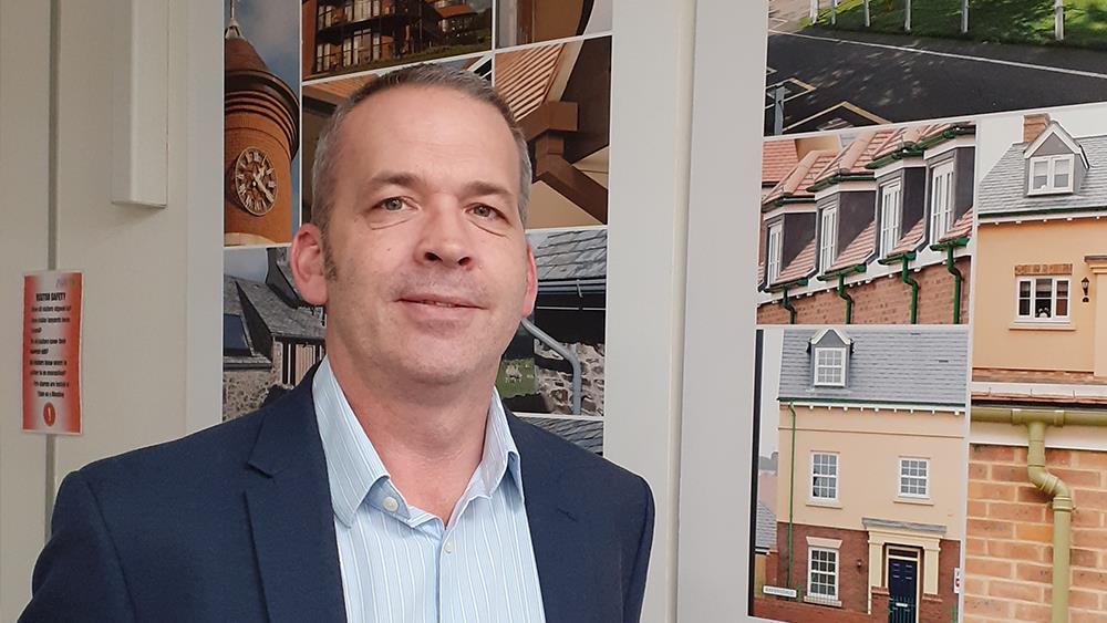 Marley Alutec welcomes new area sales manager in the South West and South Wales image