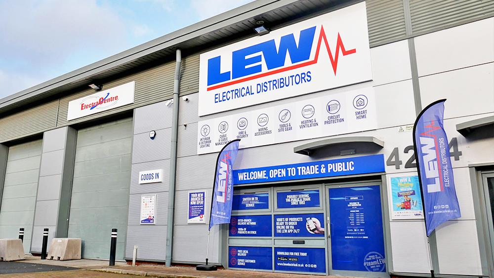 LEW Electrical Distributors launches new ERP system image