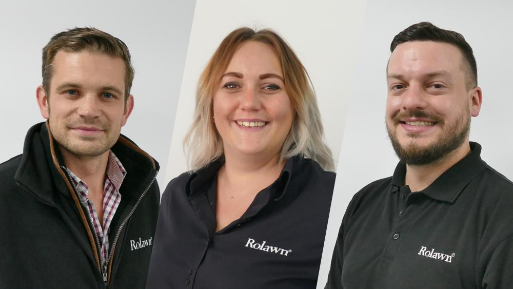 Commitment and skills recognised with new roles at Rolawn image
