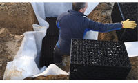 Plastic soakaway crates installation: a step-by-step guide image