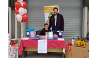 Merchant raises hundreds for charity during family fun day image