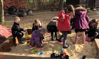 Covers Chichester helps primary school improve playground image
