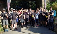 Rudridge walk raises thousands in memory of colleague image