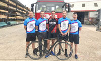 Elliotts team to cycle across France for local children's hospice  image