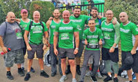 'Team Selco' steps up mightily for Macmillan image
