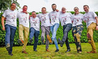 Russell Roof Tiles steps it up for charity image