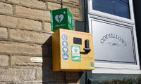 Defibrillators installed thanks to merchant's action image