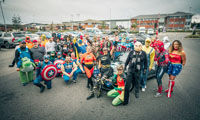 Superheroes race across France for Mind image