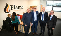 FSB Chairman visits Flame following awards success  image