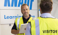 CITB accreditation for Knauf training image