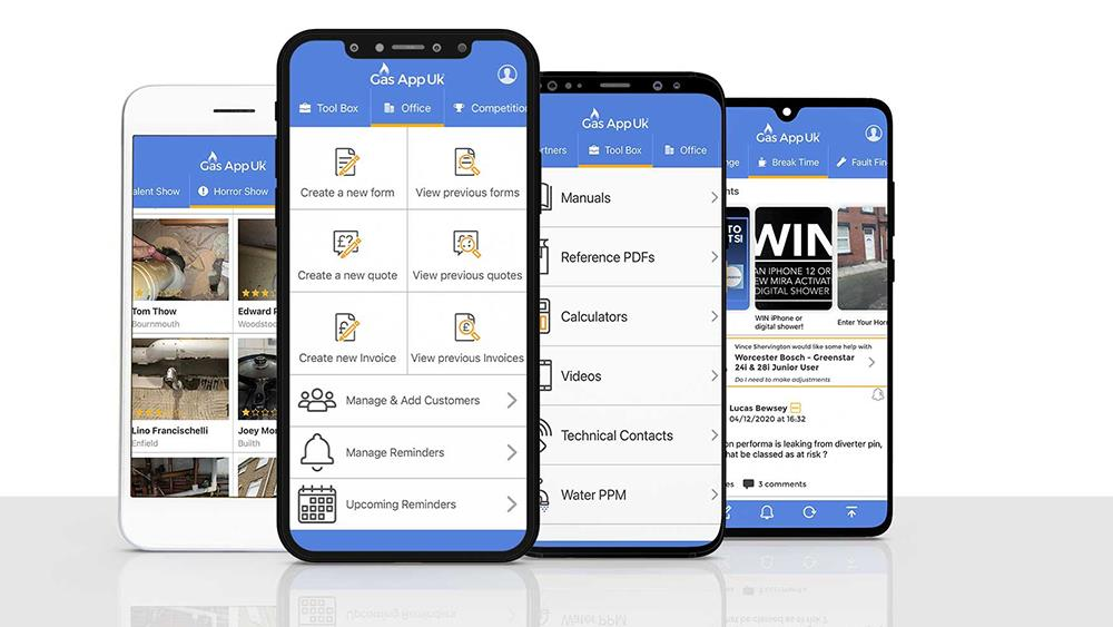 Wolseley Plumb & Parts partners with Gas App and Plumb App image