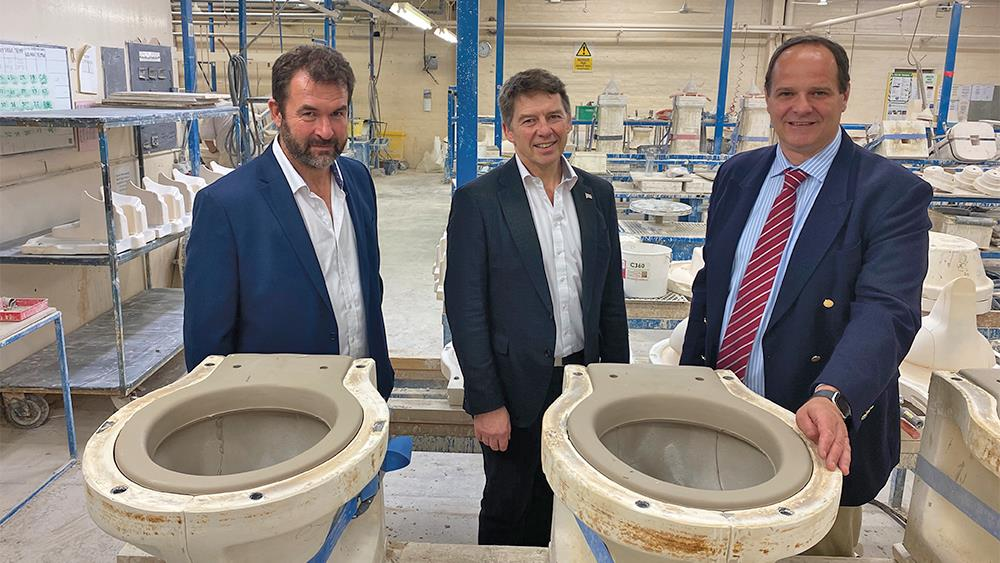 Imperial Bathrooms announces new management team following take over image