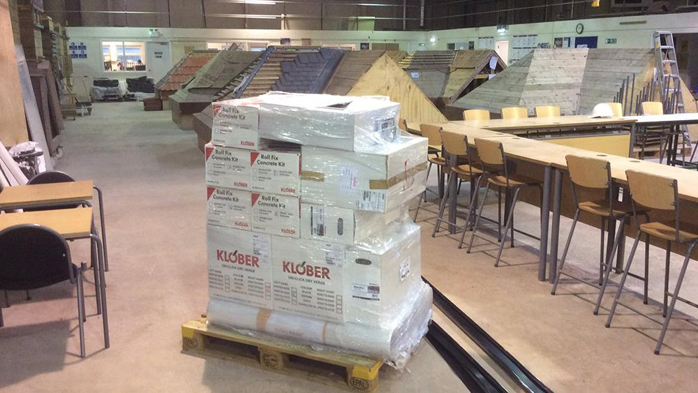 Klober supports roofers of tomorrow image