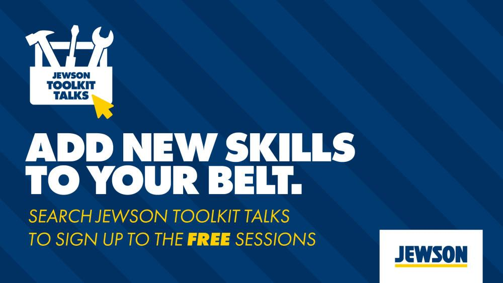 Jewson launches Toolkit talks image