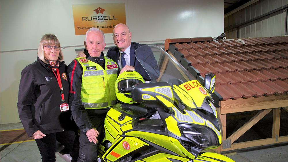 Charity rides high with Russells donation image