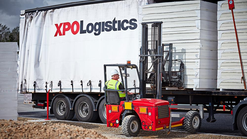 XPO Logistics provides Etex with a UK-wide transportation solution image
