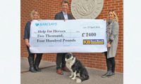 Kent Blaxill completes annual fund-raising for Help for Heroes image