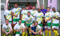 Chandlers attracts famous faces to play charity football tournament image